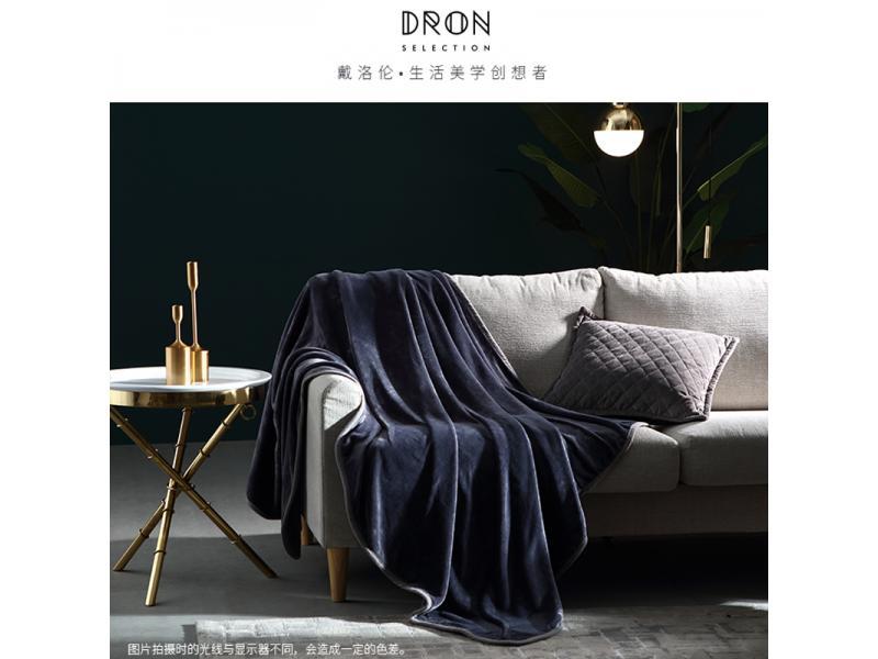 戴洛伦绒毯柔软舒适午睡空调被180cm×200CM 企业定制款